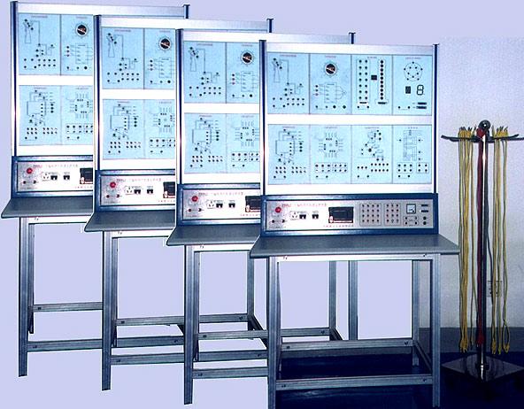 PLC实验装置概述   EFAT/PLC可编程程序控制实验装置是根据各大、中专院校及技工学校可编程控制技术课程的需要,结合PLC在自控系统中的实际使用而研制的实验设备。适用于各类学校的PLC课程的教学实验、课程设计及毕业设计等,也适用于企业中的职后培训。  PLC实验装置设备 1.